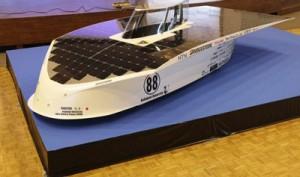 ساخت بدنه کامپوزیتی برای اتومبیل خورشیدی